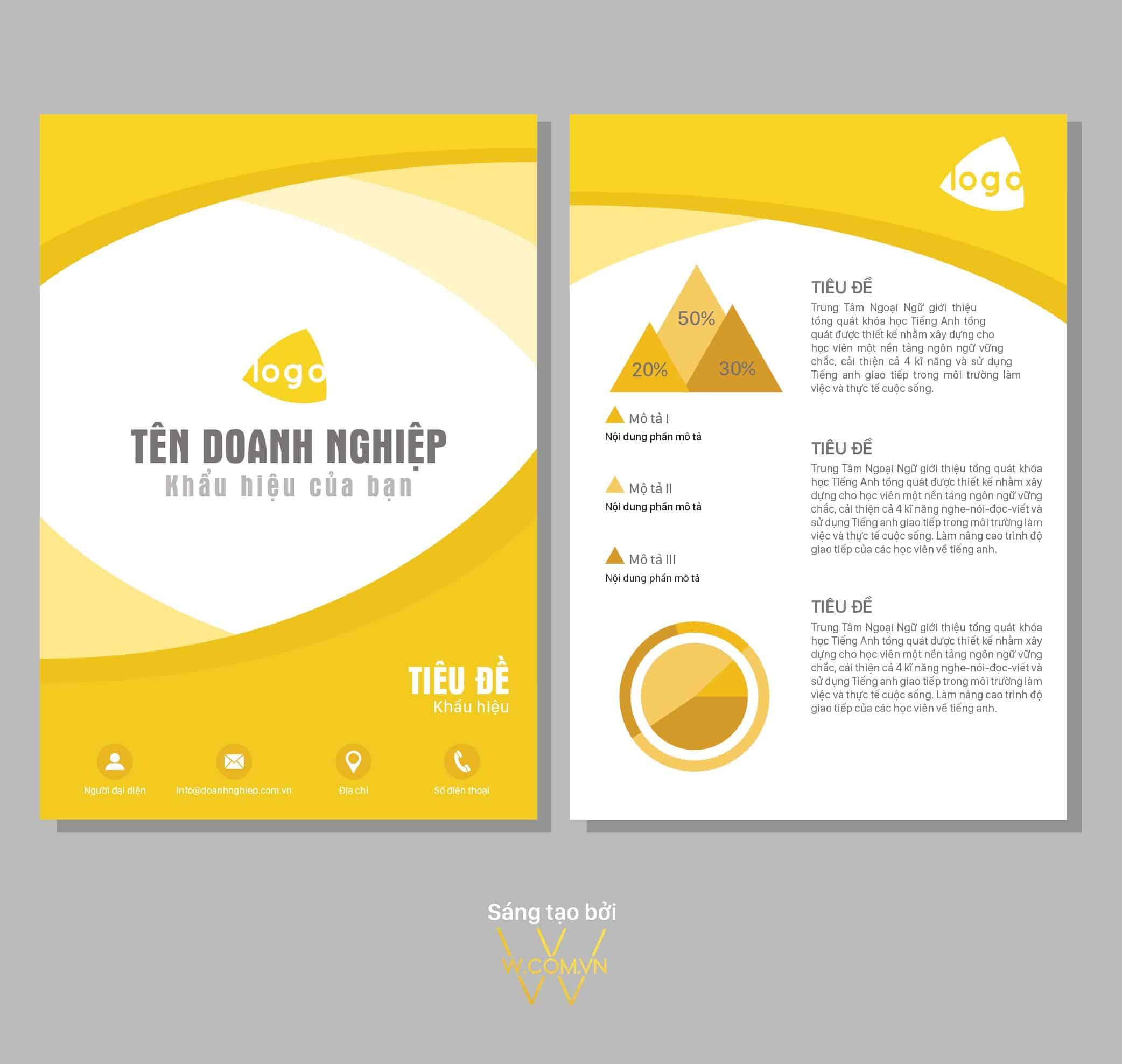 menu mau vang trang NO001