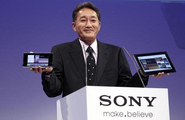 Quá  trình đổi tên và thiết kế logo Sony